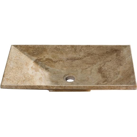 Buy Lyon Travertine Bathroom Vessel Sink Online. Bathselect Accessories