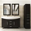 Roman Double Bathroom Vanity Sink Set