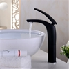 Trieste Deck Mount Single Handle Faucet with Hot/Cold Water Mixer