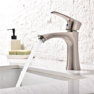 Trento Single Handle Bathroom Sink Faucet with Hot/Cold Mixer