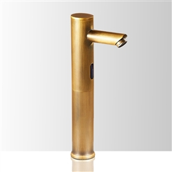 Dodona Antique Brass Finish Sensor Faucet