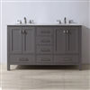 Florence Bathroom Vanity Double Sink Set