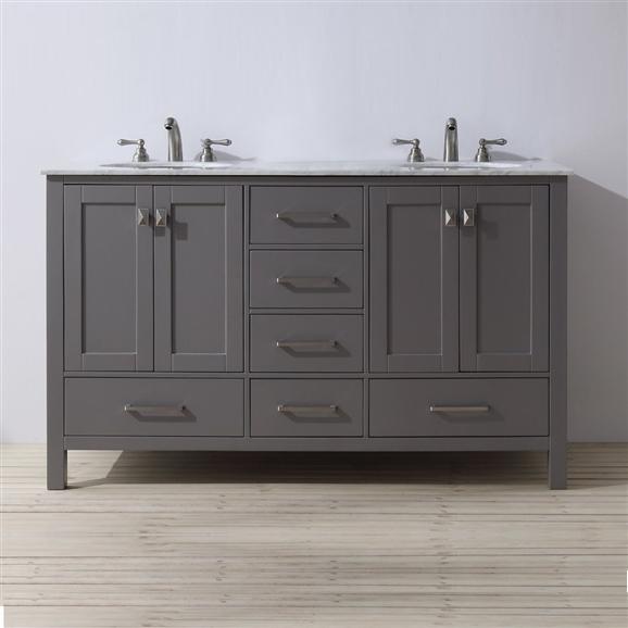 Florence Bathroom Vanity Double Sink Set