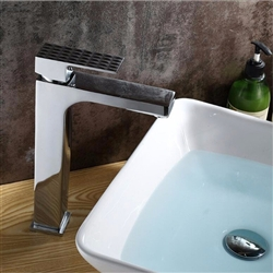 Versilia Single Handle Deck Mounted Bathroom Sink Faucet