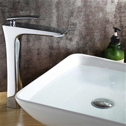 Verona Single Handle Deck Mounted Bathroom Sink Faucet