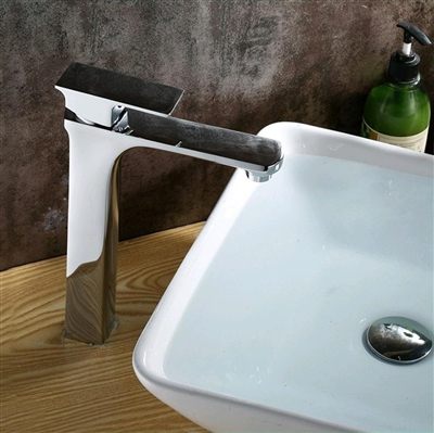 Pescara Single Handle Deck Mounted Bathroom Sink Faucet