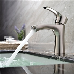 Livorno Single Handle Bathroom Sink Faucet with Hot/Cold Mixer
