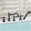 Nantes Triple Handle Solid Brass Bathroom Sink Faucet