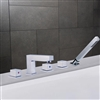 Naples Triple Handle Solid Brass Bathroom Sink Faucet