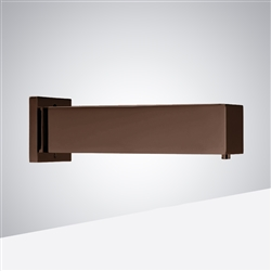 Leo Light Oil Rubbed Bronze Finish Commercial Wall Mount Square Shaped Sensor Soap Dispenser