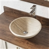 Naples Sandstone Bathroom Vessel Sink