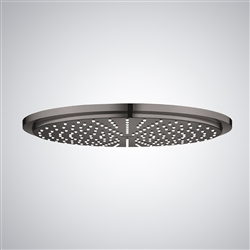 Bronze Finish Round Color Changing LED Waterfall Rain Shower head