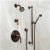 Agra Vintage Oil Rubbed Bronze Finish Shower System