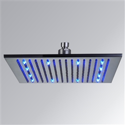 "8"" 10"" and 12"" Square LED Rain Shower Head"