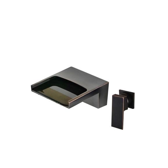 sao luis wall mount oil rubbed bronze sink faucet mixer