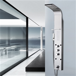 BathSelect Chrome Multi Function Rain Shower Thermostatic