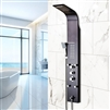 Bathselect Black Multi Function Rain Shower Thermostatic