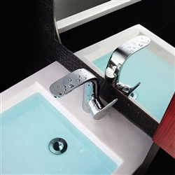 BathSelect Modern Silver Shade Bathroom Faucet