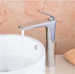 BathSelect Sleek Design Chrome Combination Long Deck Faucet