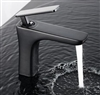 BathSelect Sleek Design Black Short Deck Faucet