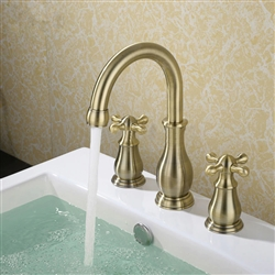 BathSelect Elegant Classic Long Faucet Dual Handle