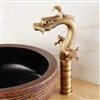 BathSelect Dragon Shape Single-Handle Sink Faucet