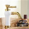 Bathselect Queen Golden Crown Deck Mount Faucet