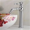 Bathselect Queen Chrome Crown Deck Mount Faucet