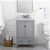 "BathSelect Elegant Gray 24"" Bathroom Vanity"