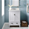 "BathSelect Elegant White 24"" Bathroom Vanity"