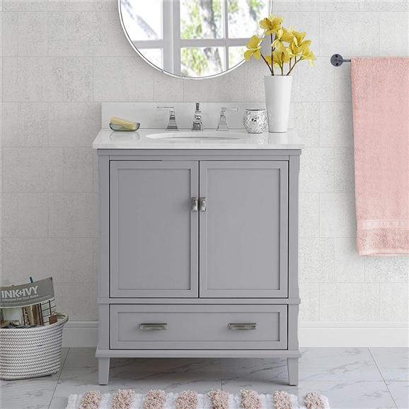 BathSelect Elegant Gray 30\