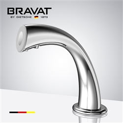 Bravat Touch Control Electronic Faucet with Light Temperature Adjustable