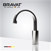 Bravat Commercial Touch Control Infrared Control Automatic Faucet