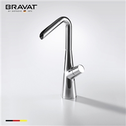 Bravat Single Handle Single Hole Installation Sink Faucet Mixer Tap