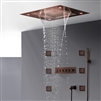 BathSelect Romantic Environment LED Shower Head With Stress-Free Body Jet & Hand Held Shower