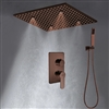 BathSelect Wonderful 20-Inch Rainfall Shower Head With Hand Shower