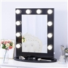 BathSelect Elegant Stylish 10 LED Dimmable Mirror-Black Vanity Mirror