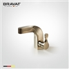 Bravat Deck Mount Single Hole Gold Finish Faucet