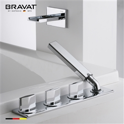 Bravat Bathtub and Shower Mixer Faucet Set