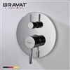 Bravat Solid Brass Wall Mount Electro-thermal Shower Mixer