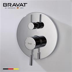 Bravat Solid Brass Wall Mounted Electro-thermal Shower Mixer