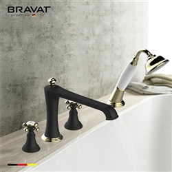 Bravat High Arc Spout Bathtub Faucet