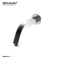 Bravat Chrome Finish Wall Mount Shower Arm