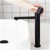 Bristol Contemporary Single Handle Deck Mount Bathroom Hot and Cold Sink Faucet in Black, Brushed Gold, Grey Finish