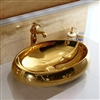 Oval Gold Sink
