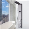 Amazing LED Rain Waterfall Shower Panel with Massage Jet & Shower Head