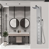 pulsating massage shower panels