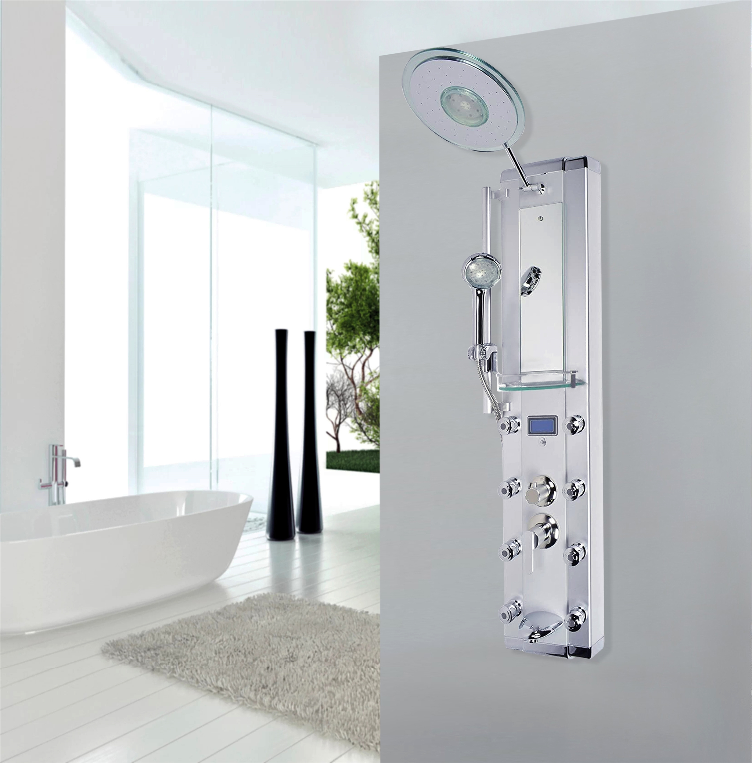 Alba Shower Towers