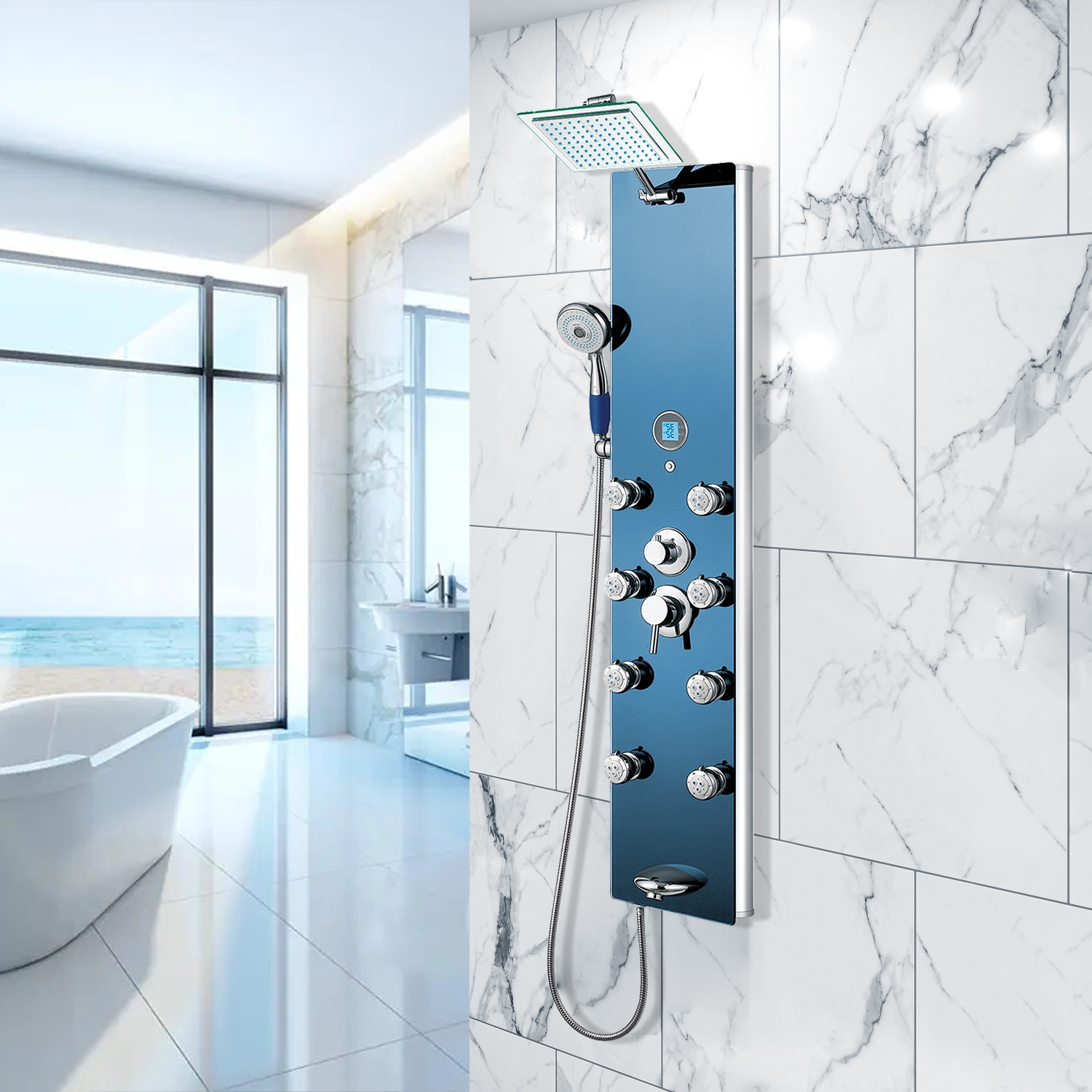 BathSelect.com your online source for Contemporary Shower Panels ...