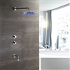 BathSelect LED Shower Set with Mixer and LED Faucet